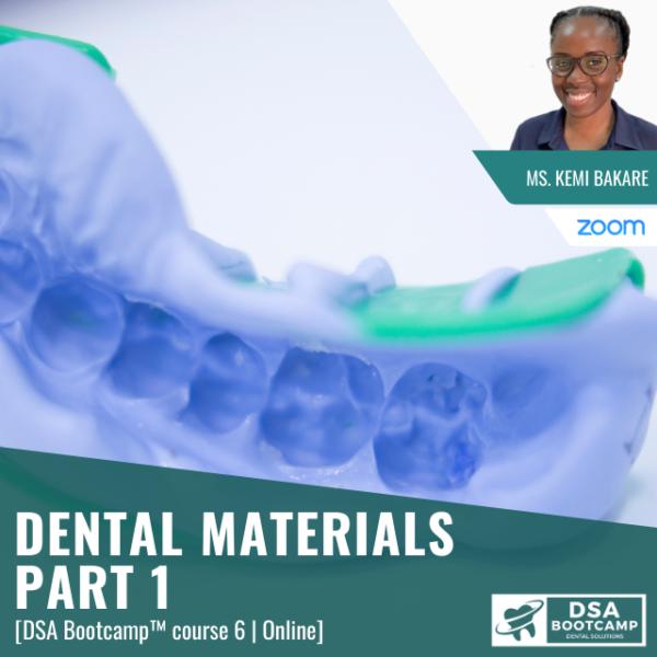 dental materials Part 1