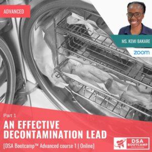 An effective Decontamination Lead 1
