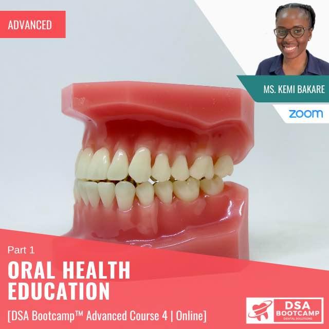 Oral health Education 1