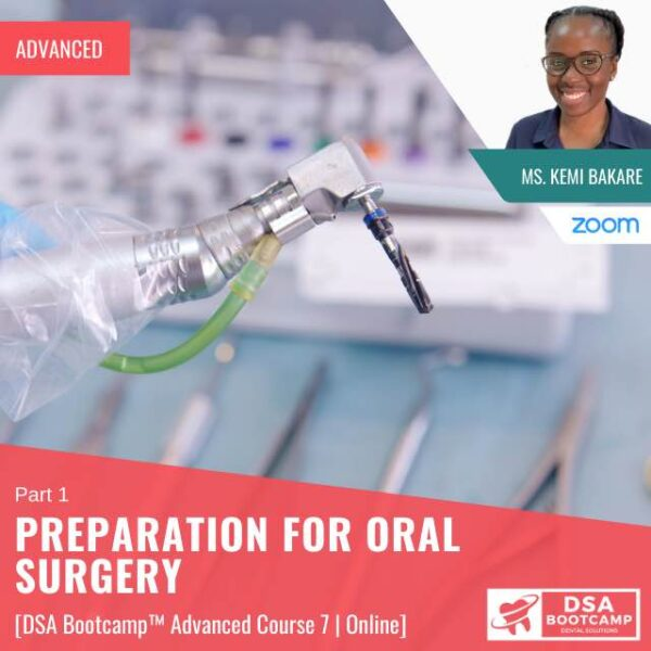 Preparation for Oral surgery 1